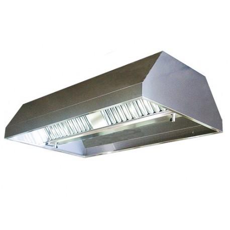 Deckenhaube 3 4m Mit Filter Und Lampe Gastroshop48