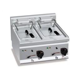 Elektro Fritteuse 10+10 Liter (18 kW)