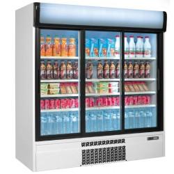 Getränke Kühlschrank 2 Jahre Garantie 1600 Liter - mit 3 Türen