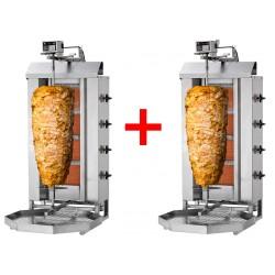 (ANGEBOT) 2x Dönergrill 4 Brenner / maximal 80kg