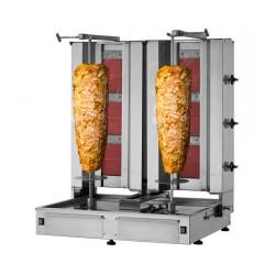 Dönergrill 3+3 Brenner / maximal 80kg