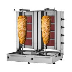 Dönergrill 4+4 Brenner / maximal 80kg