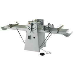 Teigausrollmaschine auf Rädern, Zylinder B 500 mm, Bandmaß B 1000 mm, mit Geschwindigkeitsregler