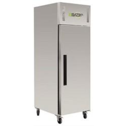 Polar Edelstahl-Kühlschrank 650 liter