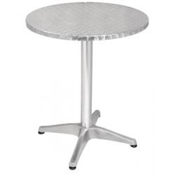 Bolero Stuhl Aluminium und Rattan natur