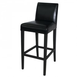 Bolero Faux Leather High Bar Stool