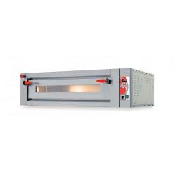 Elektro-Pizzaofen für 6 Pizzen ø 30 cm, elektronische Bedienung