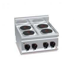 Elektroherd - 4 Platten Rund (10,4 kW)