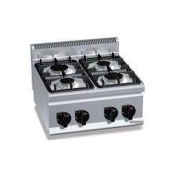 Gasherd 4xBrenner (12,4 kW)