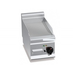 Elektro Bratplatte - Gerillt (4 kW)
