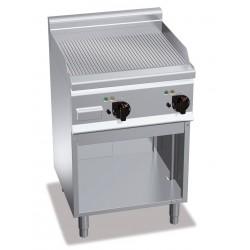 Gas Bratplatte - Gerillt (8 kW)
