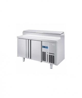 Bäckerei / Zubereitungskühltisch 2 Jahre Garantie (EN) - mit 2 Türen und 1 Schublade 1/3