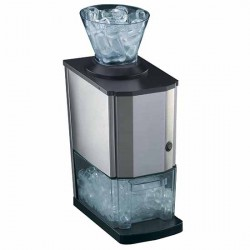 Eiscrusher, Struktur aus Aluminium, 2 kg/h