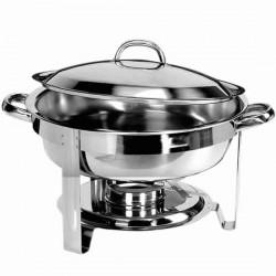 Elektro-Chafing Dish mit rundem Becken, H 60 mm