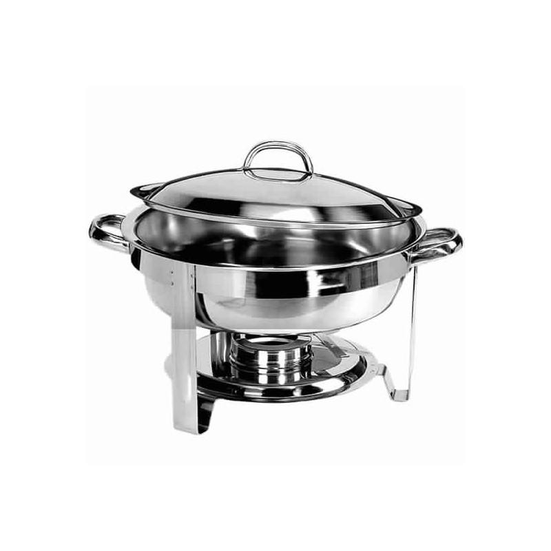 elektro chafing dish mit rundem becken h 60 mm gastromastro group. Black Bedroom Furniture Sets. Home Design Ideas