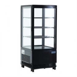 Kühlvitrine schwarz