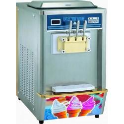 Softeismaschine, Luft-/Wasser-Kondensation, Kapazität 2x 8 Liter