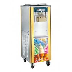Softeismaschine, Luft-/Wasser-Kondensation, Kapazität 2x 7 Liter