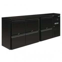 Arrière-bar 6 tiroirs