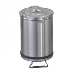 Mülleimer rund 95 Liter - mit Fusspedal