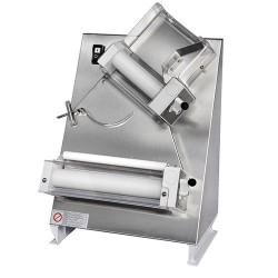 Teigausrollmaschine mit 2 Rollen für Pizzen ø 14-30 cm