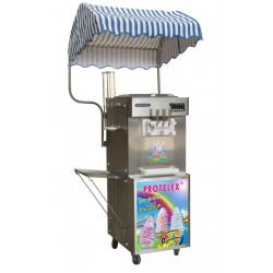 Softeismaschine Frozen Yogurt maschine 2,7kW