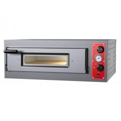 Elektro-Pizzaofen für 6 Pizzen ø 30 cm, mechanische Bedienung